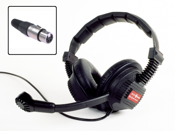 Intercom Headsets (standard 4P XLR connector)